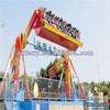 Crazy park game space travel top spin amusement park thrill rides for sale