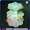 TSD-C110 custom 3 tier cardboard party cake stand/colorful cupcake stand/cupcake paper cupcake stand