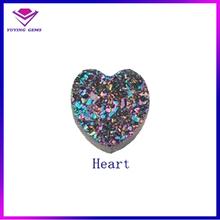 Wholesale agate druzy pendant,quartz druzy pendant,drusy quartz for necklace