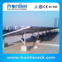 Concrete flat roof mounting bracket for solar panel