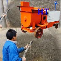 2015 New Designed Cement Rendering Machine