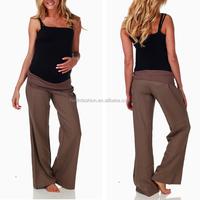 2014 Wholesale pregnant maternity tactical uniform pants hot selling maternity pants