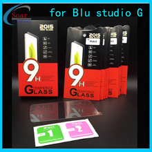 9H full cover prevent myopia tempered glass for Blu studio G,Explosion proof film tempered glass guard for studio G