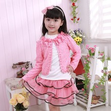 Latest girls boutique clothing dress design,fashion 3pcs lace party dresses for girls of 7years old