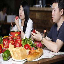 New !! canned tomato paste price very lower in this area