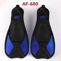 Adult Scuba Diving Snorkeling Dive Fins Flippers Full Foot Pocket Sets Foot Flippers Water Sports Equipment