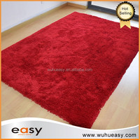 100% polyester cotton microfiber shaggy bath mat rug for import