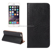 2015 Hot selling Imitated Crocodil Skin PU leather mobile phone case cover with card slot stand for iphone 6/6s/6plus/6s plus