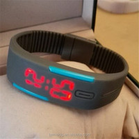 China manufacturer touch screen led watch instructions
