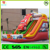2014 High Quality PVC Cheap Car Theme Inflatable Slide For Kids