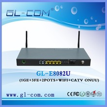 FTTH CATV Optical Transceiver 4FE WIFI/ CATV GEPON EPON ONU