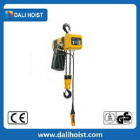 CE GS TUV Approved Construction Electric Chain Hoist/elevator hoist rope