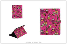 Stylish for mini ipad 123 cover case flip leather stand cases with cute design