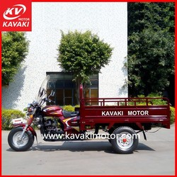 2015 New Hot Sale 200cc KV200ZH-C Three Wheel Motorcycle Wine Red Electric Start Tricycle