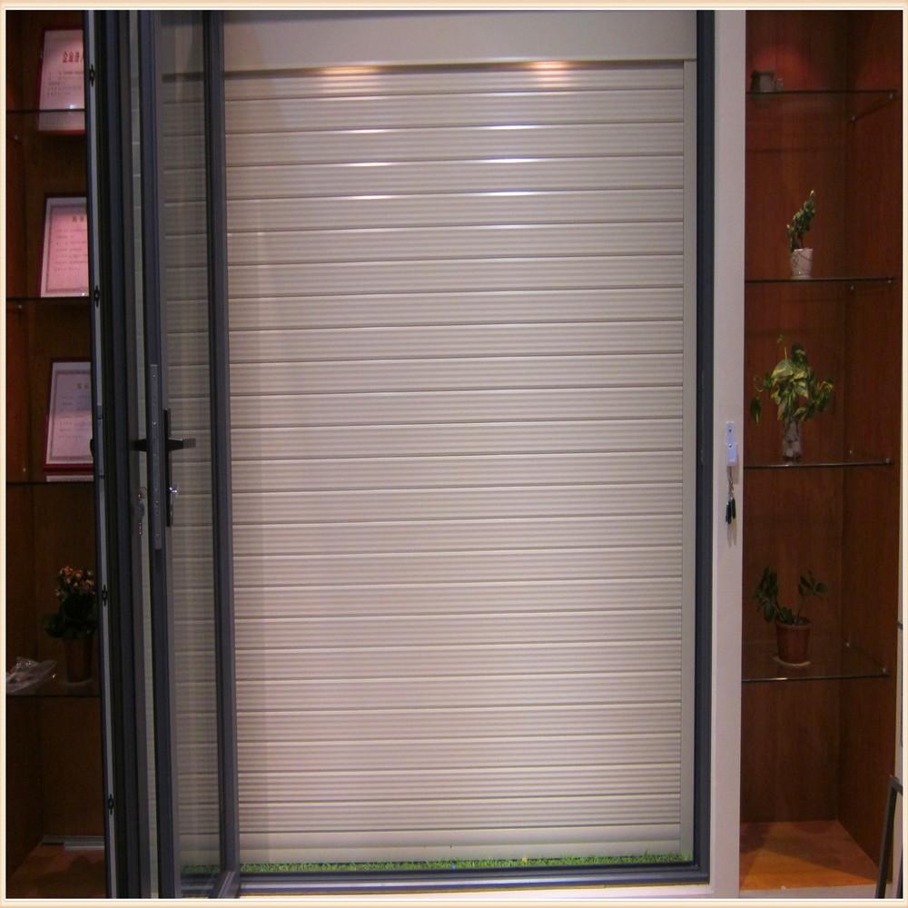 Aluminum Rolling Doors : Aluminium rolling shutters door for modern house design