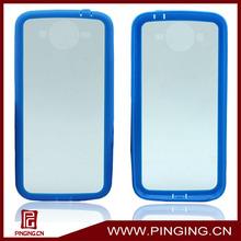 New soft bumper clear hard case for samsung Galaxy Mega 5.8 I9152