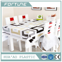 PVC THICK PLASTIC FILM FOR PRIINTING TABLE CLOTH FILM