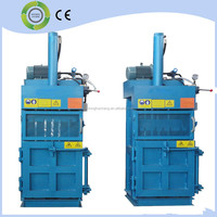 vertical plastic film compress baler machine