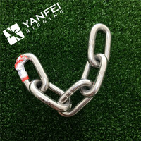 Stainless welding steel link chain