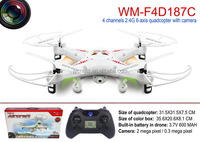 remote control drone quadcopter 4channels 6Axis with HD camera US market