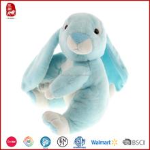 China Yangzhou supply 2016 new desighned good quality farm easter rabbit plush toy passed SEDEX/WCA