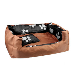 Pet Dog Soft Bed Futon Mat Cushion Puppy Large House Kennel Cat Bed