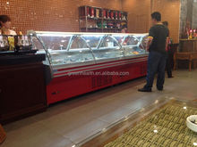 Australia display cooler for supermarket in china
