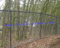 Chain link snake fencing
