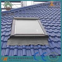 Nipa Hut Modern House Synthetic Resin PVC Roof Tile Solar Roofing Sheet