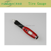 Most Popular Pencil Type pencil tire gauge with LED Backlight Digtal Display and Ball Pen