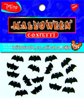 (Halloween Poker) PVC confetti for Halloween party supplies