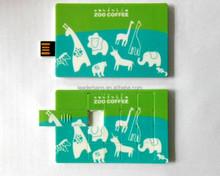 OEM You logo puzzle slide card usb flash drive