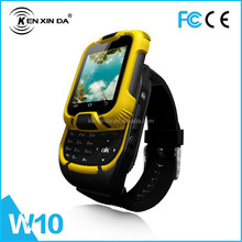 China made cheapest touch big screen wirst watch phone/flip touch screen wrist watch phone