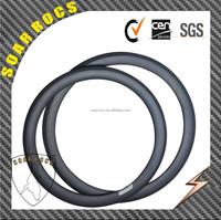 2015 SoarRocs carbon byicycle 650C road 50mm tubular rims road bike wheel U shape 25mm wdith for sale
