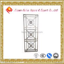 Kelis Professional oem custmoized Stainless steel 201/304/316 door flower design, stainless security door with flower