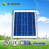 Bluesun hot sell portable 15w mini solar panel for led light