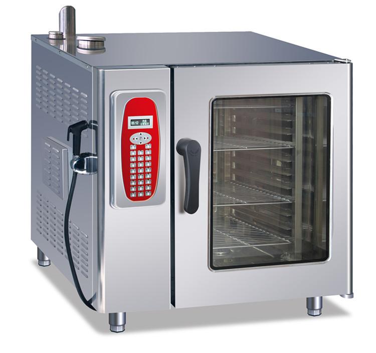 Cuisine commerciale électrique de vapeur Combi four / four micro ...