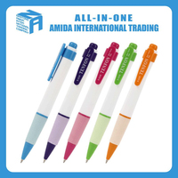 promotional and colorful pllastic ball pen