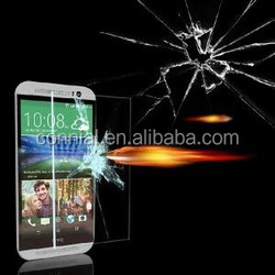 2015 hot!!!cheap price ultimate anti-shock 0.3mm tempered glass screen protector