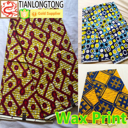 West Africa Ghana importing visco wax print cotton and polyester fabric