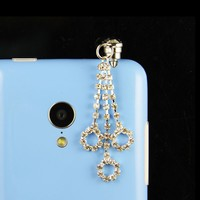2015 new product anti dust cute earphone ear cap for iphone 6 plus ,6g ,5s 5g,4s 4g