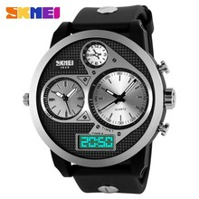 Big Mens Waterproof Cold Light Sport Watches With Big Wrists