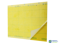 Yellow stick card with pheromone for trapping insect