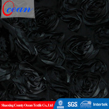 Luxurious free sample polyester fabric for weeding in 2015