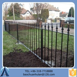 2.4m*1.5m Picket Fence For Home/High-quality Safety Fence For Sale/Cheap Steel Fence Wholesale