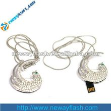 diamond luxury gift usb flash drive jewelry