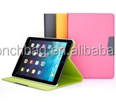 Hot selling leather case for ipad air.high quality cover case for ipad air2