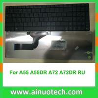 RU laptop keyboard for ASUS a53s K54 K54H K55 A55 A72 N50 N51 N53 X54H X53S N53S N73S P52E