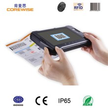 Corewise Android tablet with wide version 7 inch touch screen card reader barcode scanner A370