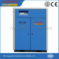 Fully Enclosed Motor Drive 8 Bar Heavy Duty Direct Driven Stationary Screw Air Compressor
